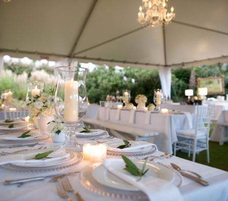 Lake House Rotterdam - Inspiratie voor de styling van het diner op jullie bruiloft