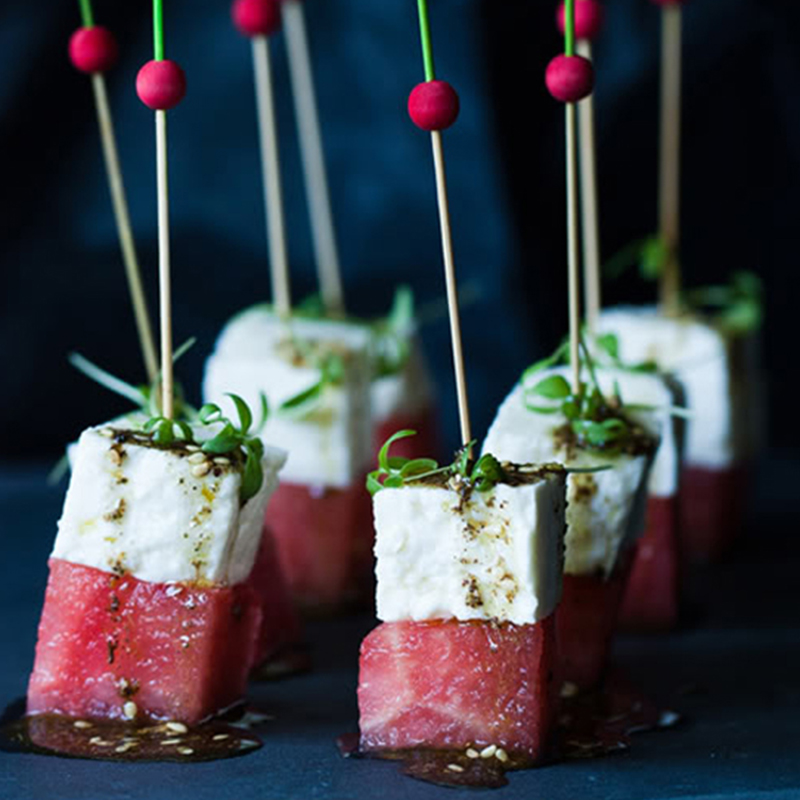 Canape | Watermelon Skewers