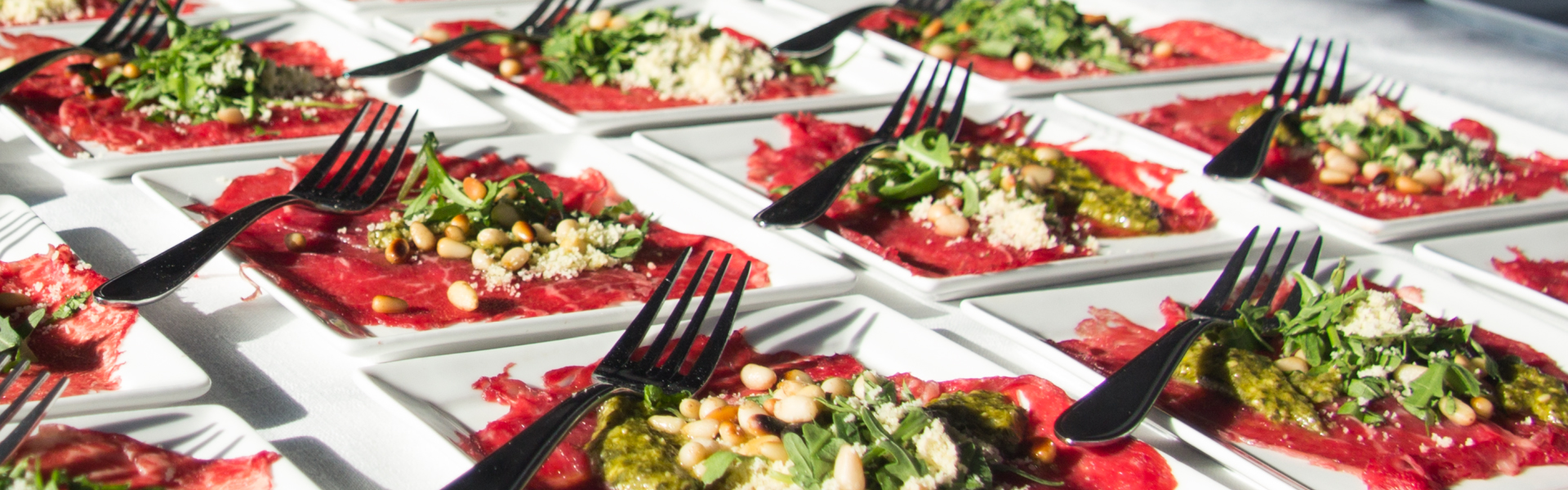 Walking Dinner | Carpaccio