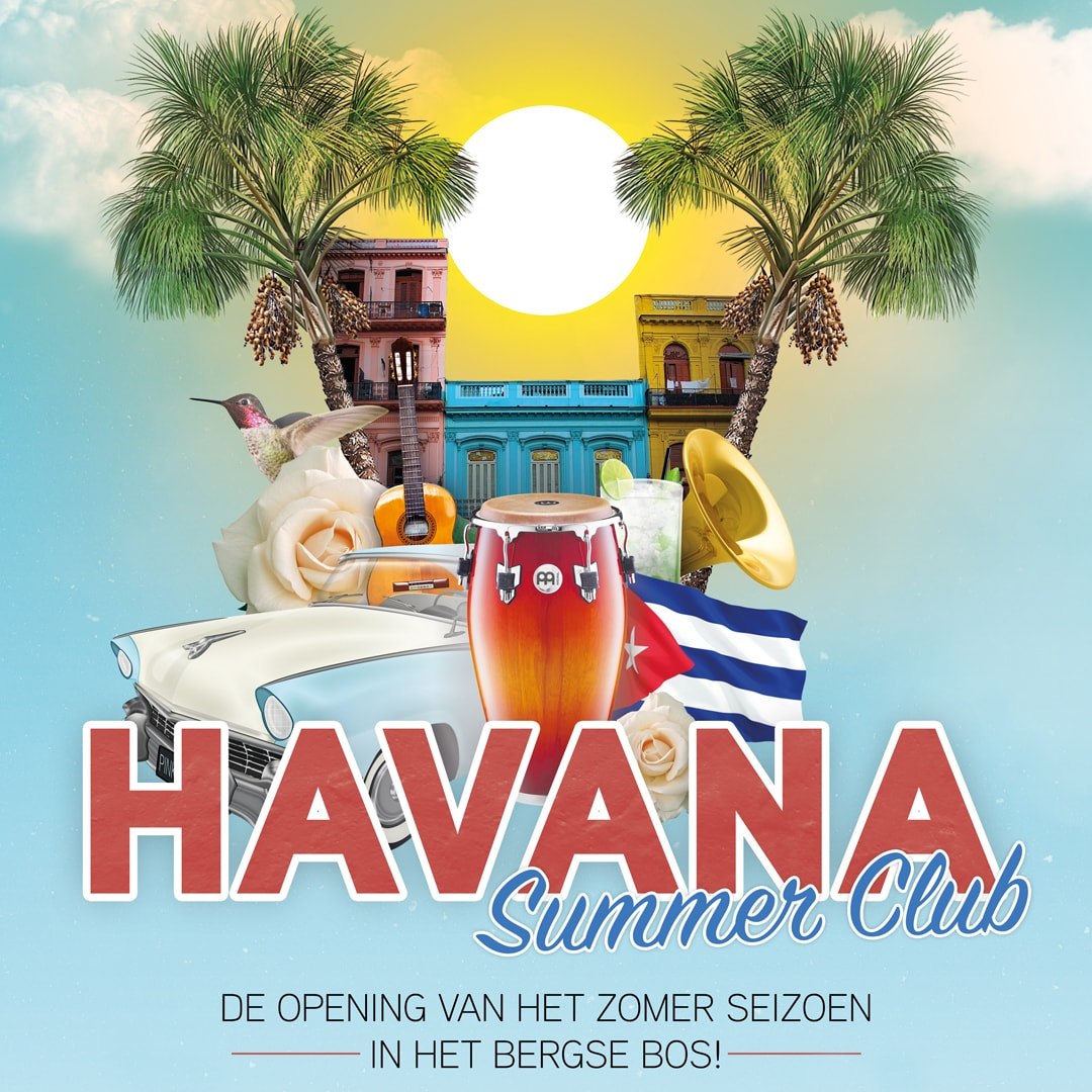 Lake House Rotterdam & Bergsche Plas brengen het Lage Bergse Bos in Cubaanse sferen met Havana Summer Club