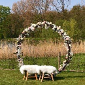 Een echt unieke selfie spot op jullie bruiloft, door Gallery Groene Tuin