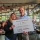 Eerste cheque overhandigt aan De Voedselbank Rotterdam