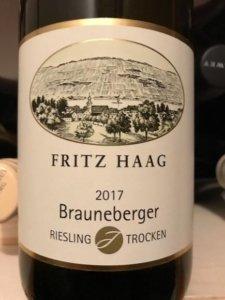 Riesling | DUI | Fritz Haag Braunberger Trocken