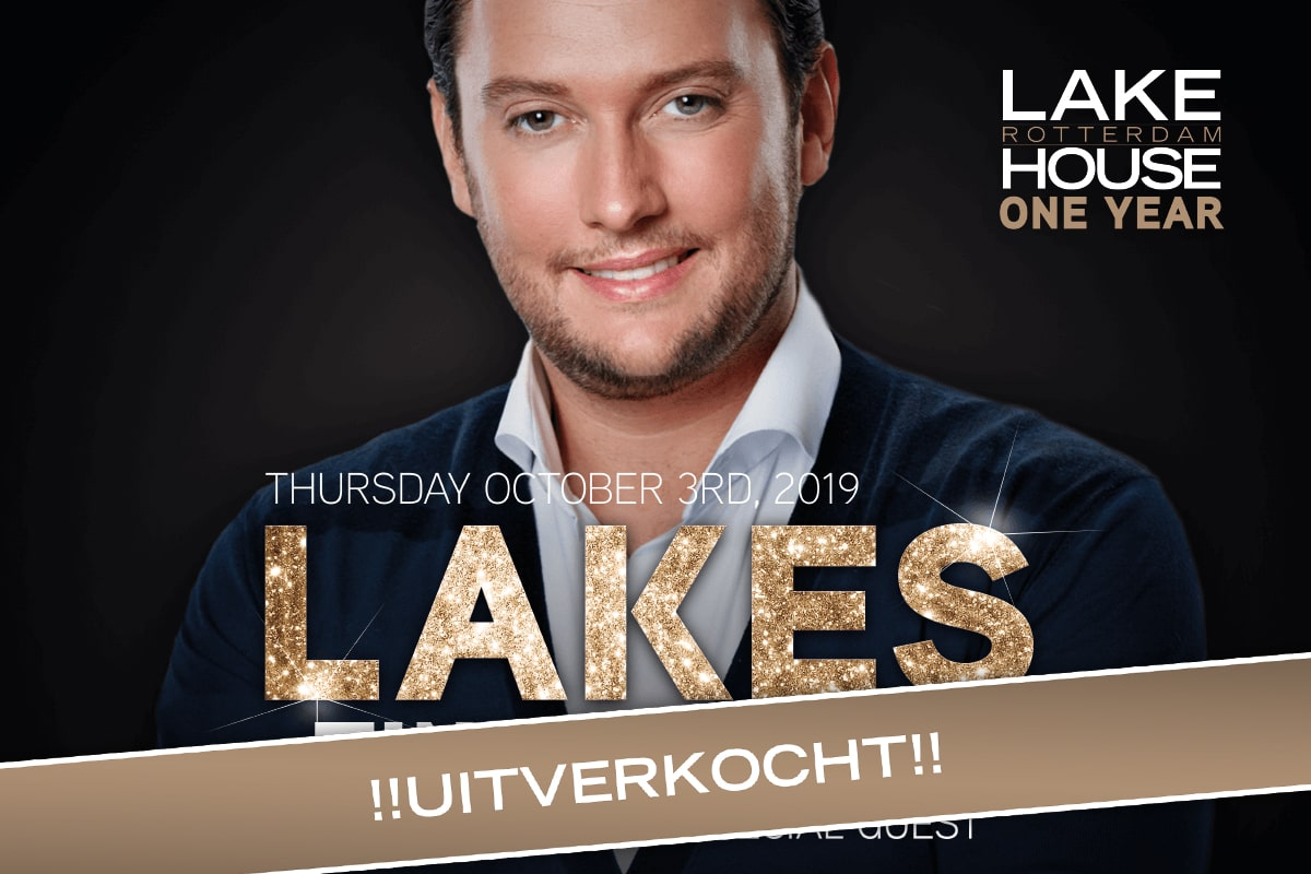 LAKES One Year | Tino Martin | Uitverkocht