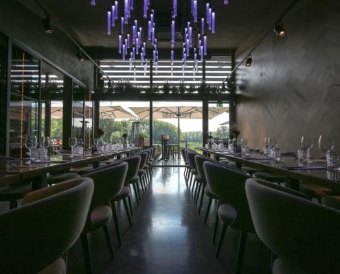 In prive setting dineren met het mooiste uitzicht van de regio!