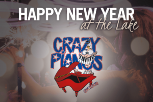 Happy New Year at the Lake met Crazy Piano's