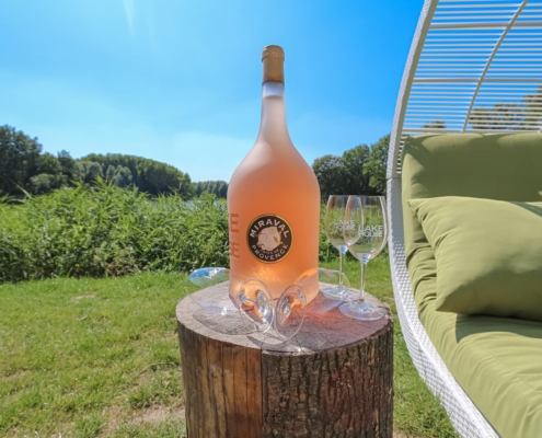 Miraval Provence rose drink je bij Lake House Rotterdam