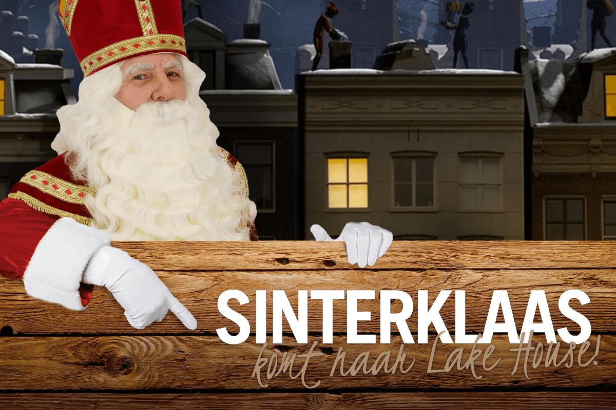 Sinterklaas komt op bezoek!