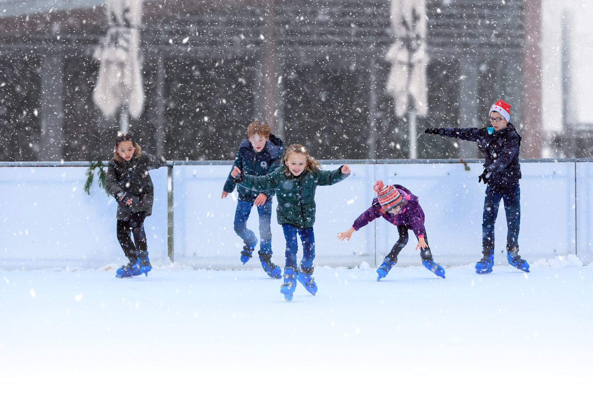 De leukste kinderfeestjes vier je op de Schaatsbaan van Lake House!