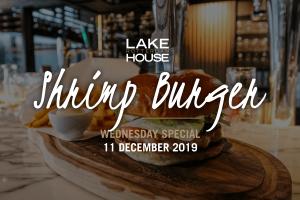 De Wednesday Special van 11 december; Shrimp Burger!