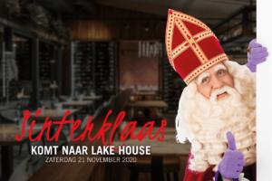 Sinterklaas komt naar Lake House in 2020!