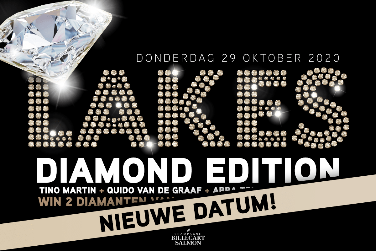LAKES Diamond Edition naar nieuwe datum